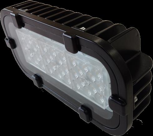 Светодиодный прожектор FWL 12-26-50-Г60 RGBW Черный корпус